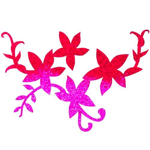 Blumen Schablonen