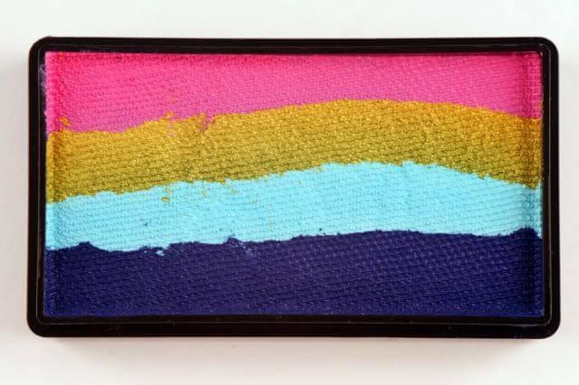 Aqua Colorblock