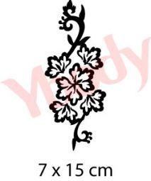 Blume Schablone