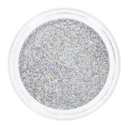 Silber Glitzer Holografisch