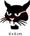 Katze Tattoo Schablone