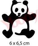 Panda Schablone