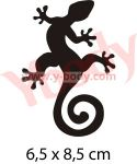 Gecko Tattoo Schablone
