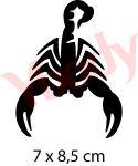 Schablone Skorpion