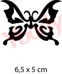 Schmetterling Glitzer Tattoo Kinder