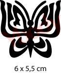 Schmetterling Tattoo Schablone
