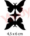 Doppelter Schmetterling