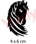 Schablone Pferdekopf