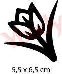 Schablone Tulpe