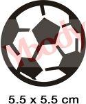 Fußball Glitzertattoos Jungs
