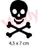 Pirat Tattoo Schablone