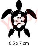 Hawaii Schildkröte Schablone