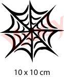 Spinnennetz Schablone