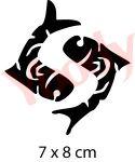 Fische Tattoo Schablone