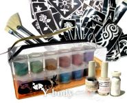 Glitzertattoo Premium Set
