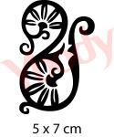 Ornament Henna Tattoo Schablone