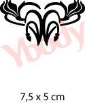 Henna Style Tattoo Schablone
