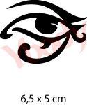 Auge Schablone