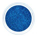 Blau Glitzer Holografisch