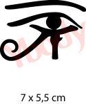 Schablone Auge