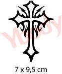 Schablone Kreuz