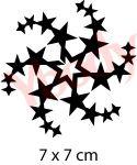 Sterne Schablone
