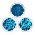 Eco Himmels Blau Bio Glitzer